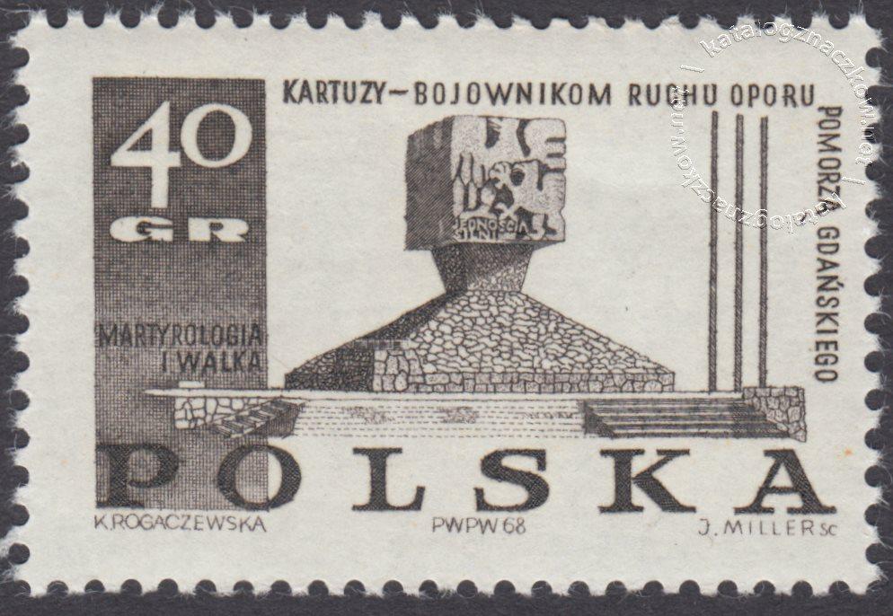 Pomniki walki i męczeństwa znaczek nr 1738