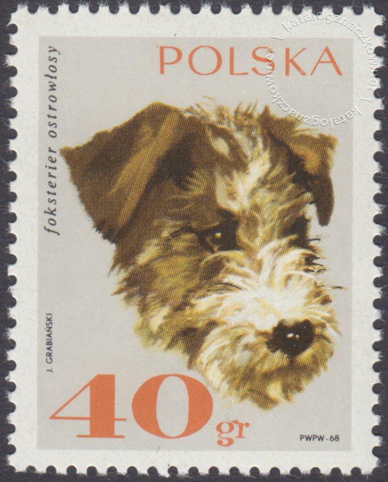 Rasy psów znaczek nr 1752