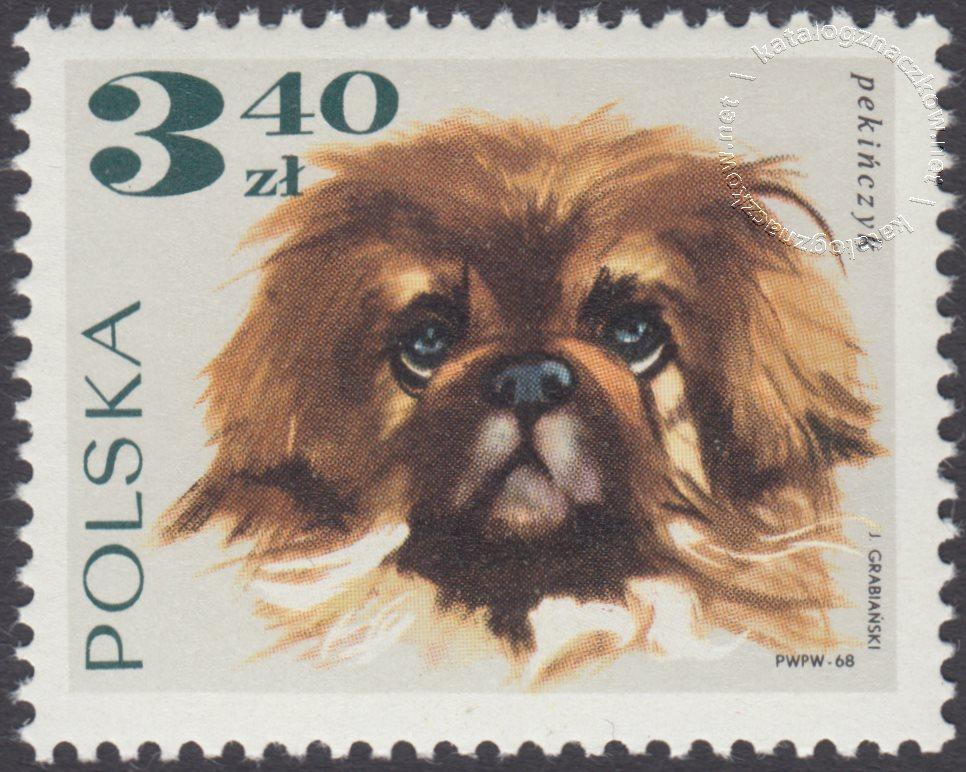 Rasy psów znaczek nr 1756