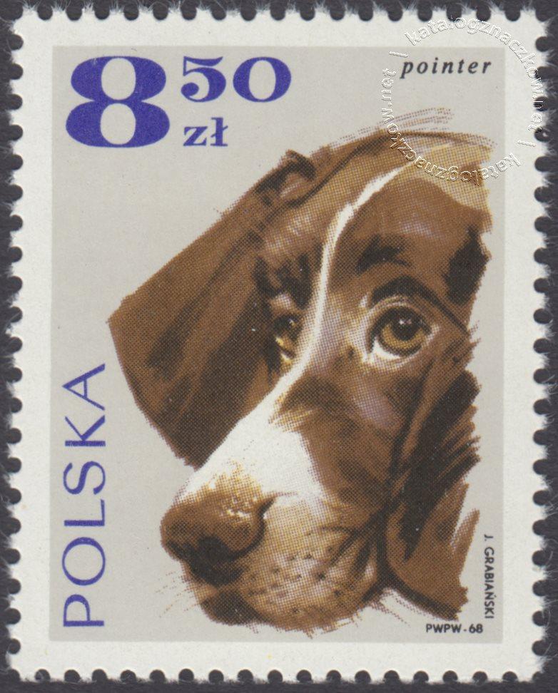 Rasy psów znaczek nr 1758