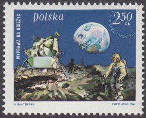 Pierwsze lądowanie na księżycu - 1793
