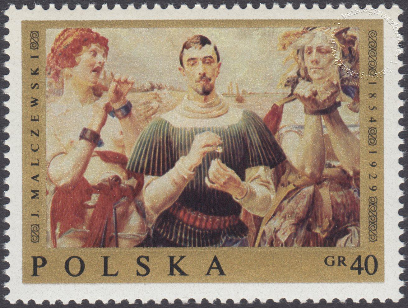 Malarstwo polskie znaczek nr 1795