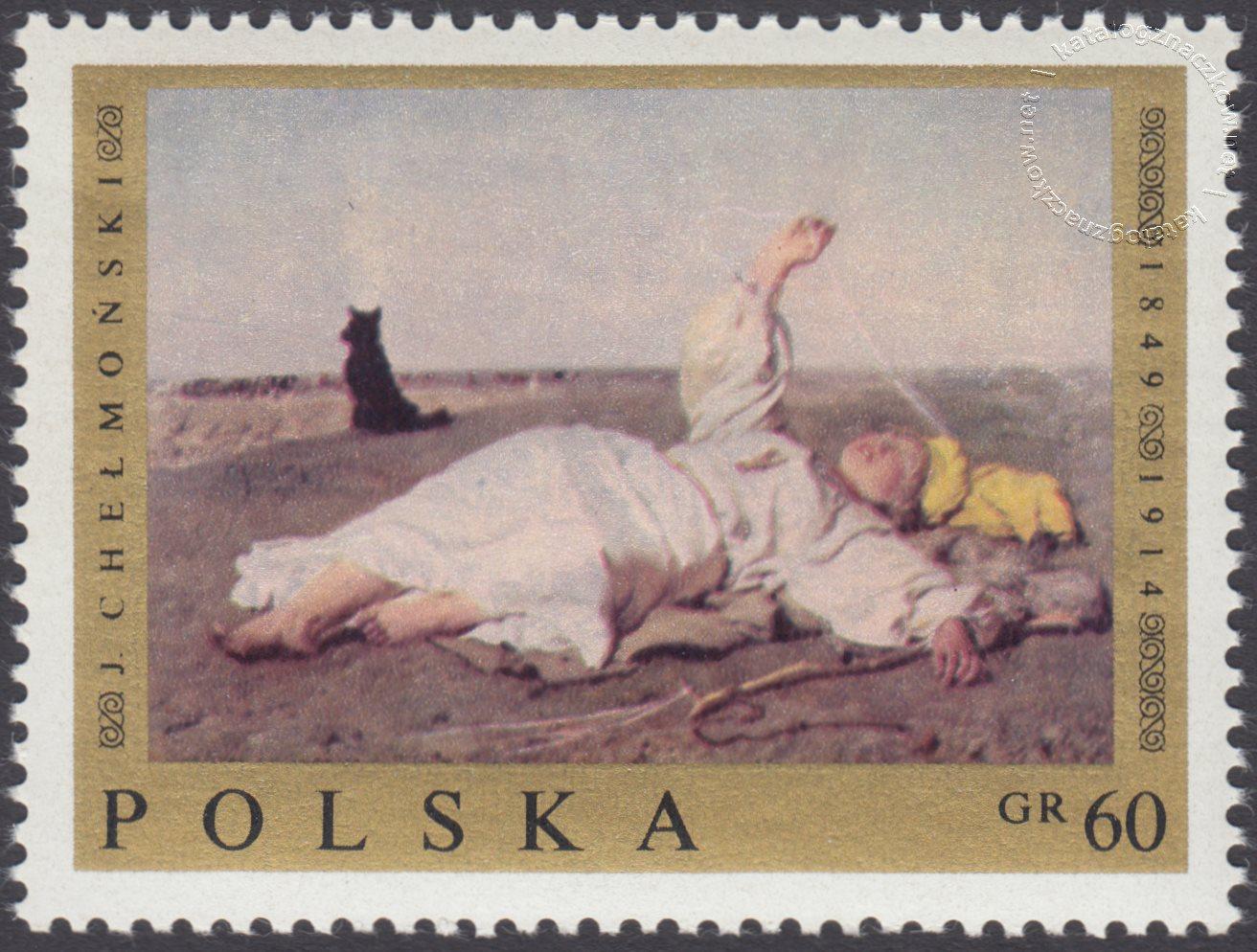 Malarstwo polskie znaczek nr 1796