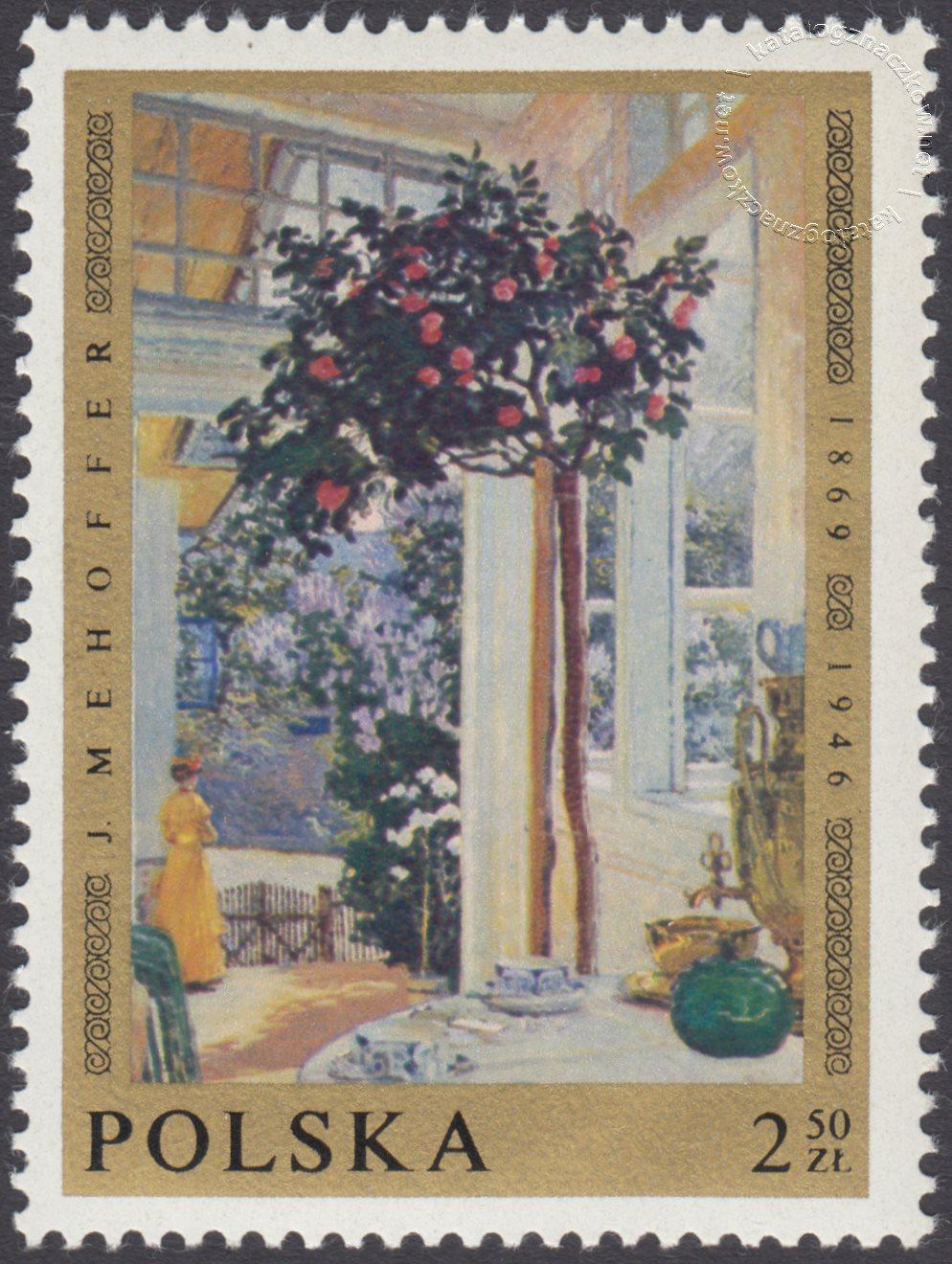 Malarstwo polskie znaczek nr 1798