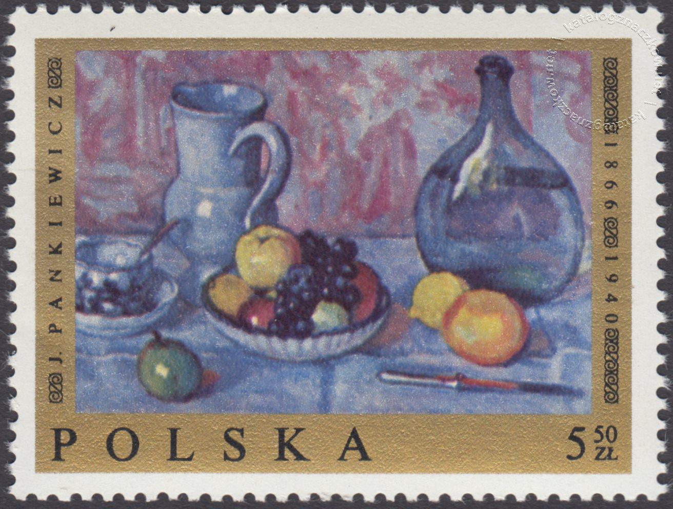 Malarstwo polskie znaczek nr 1800