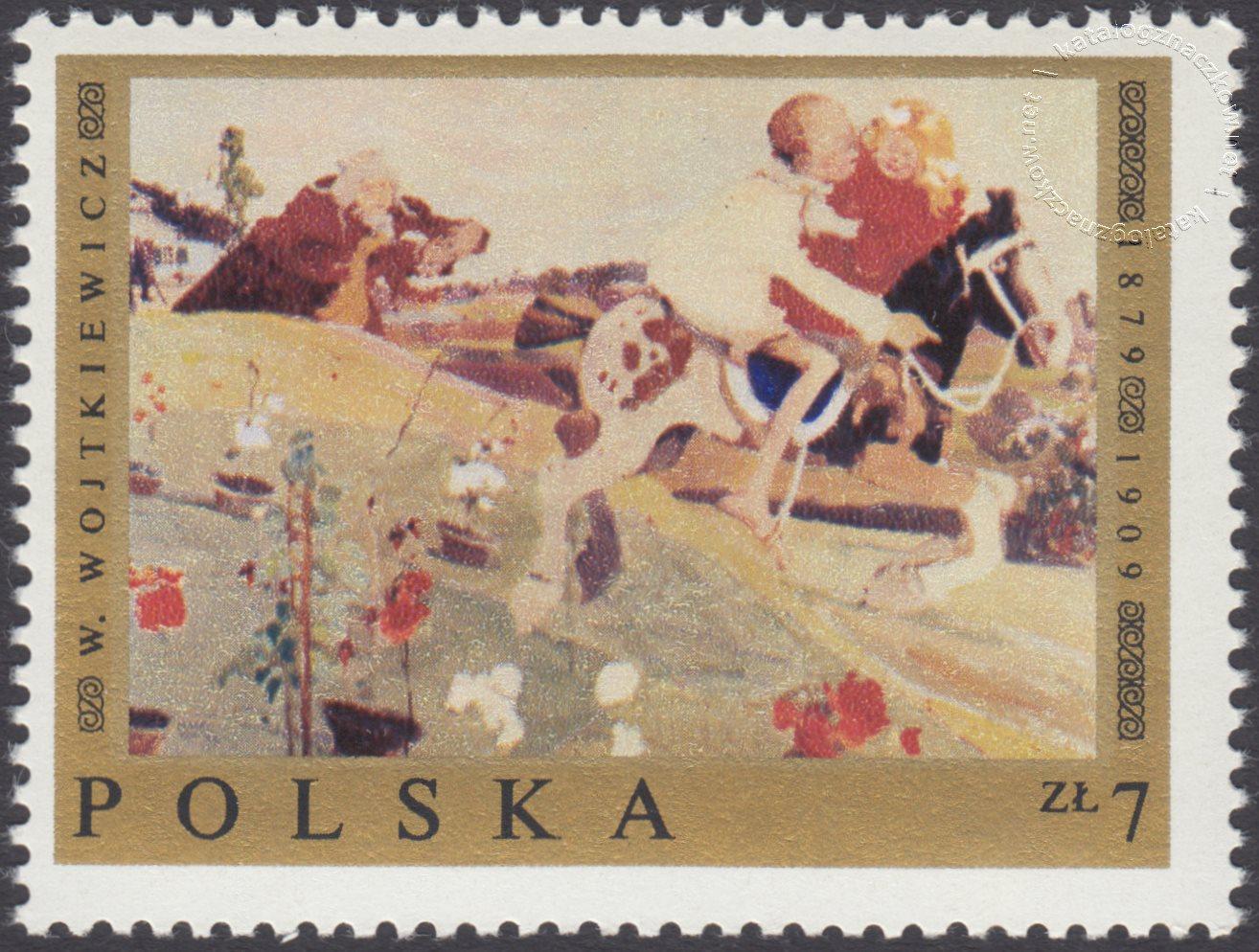 Malarstwo polskie znaczek nr 1801