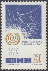 50 lecie Międzynarodowej Organizacji Pracy - 1815