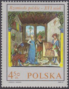 Rzemiosło polskie w XVI wiecznym malarstwie z kodeksu Baltazara Behema - 1822