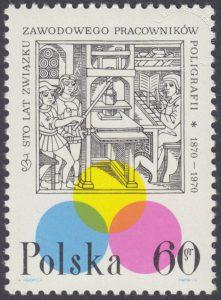 100 lecie Związku Zawodowego Pracowników Poligrafii - 1840