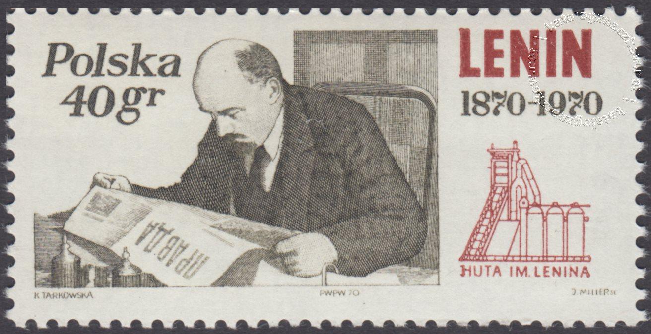 100 rocznica urodzin Włodzimierza Lenina znaczek nr 1849