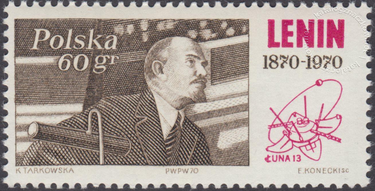 100 rocznica urodzin Włodzimierza Lenina znaczek nr 1850
