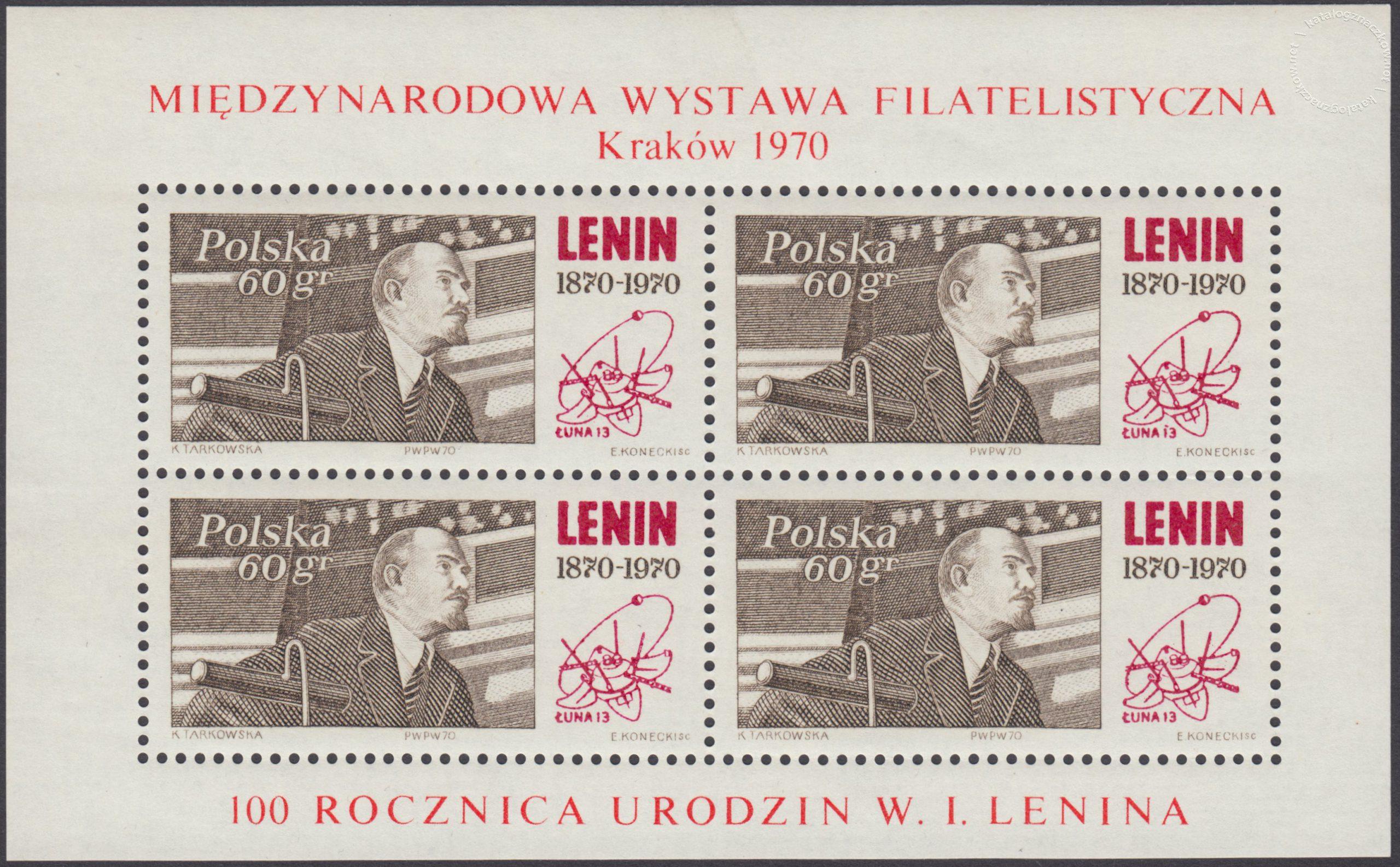 100 rocznica urodzin Włodzimierza Lenina ark. 1850