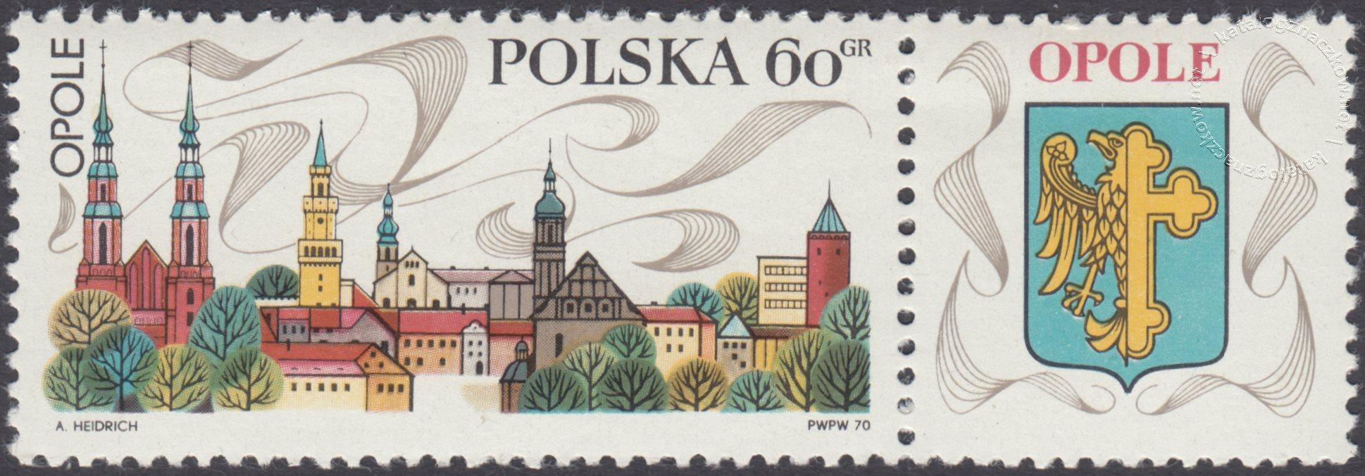 Turystyka – na piastowskim szlaku znaczek nr 1853