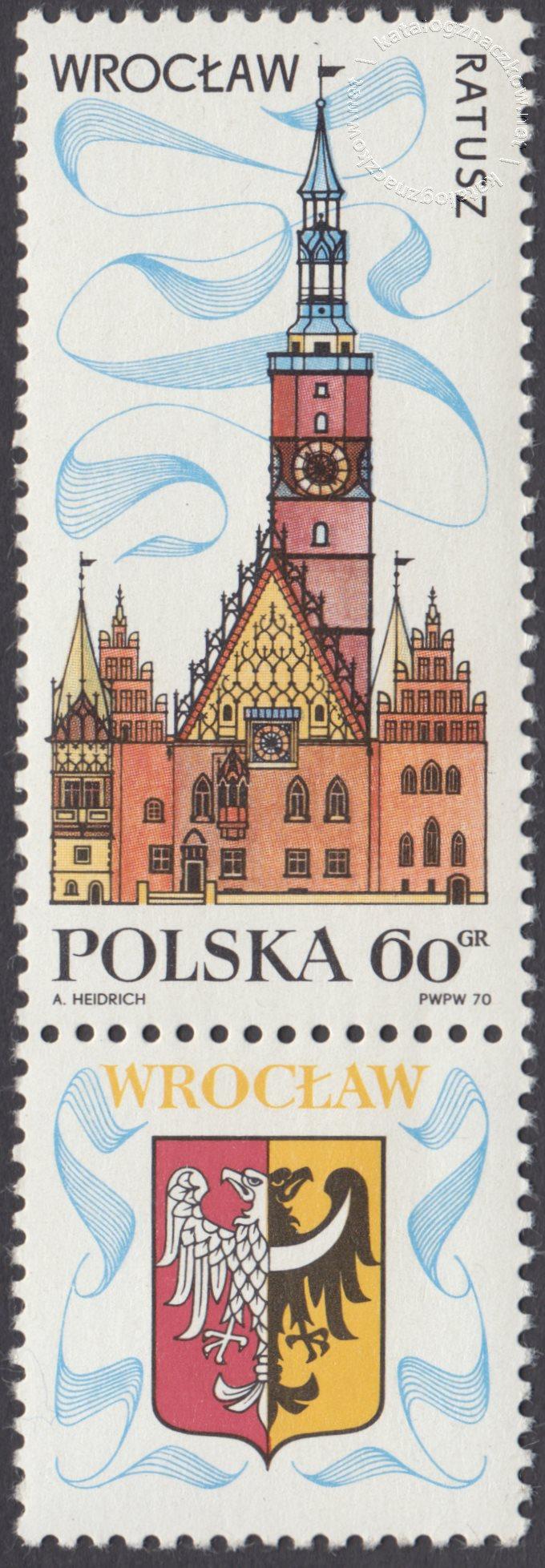 Turystyka – na piastowskim szlaku znaczek nr 1856