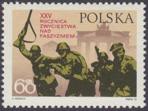 25 rocznica zwycięstwa nad faszyzmem i zjednoczenie Ziem Zachodnich i Północnych - 1857