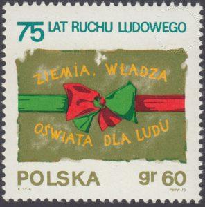 75 lecie ruchu ludowego w Polsce - 1859