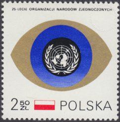 25 rocznica powstania ONZ - 1879