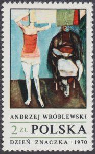 Dzień Znaczka - polskie malarstwo współczesne - 1889