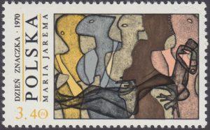 Dzień Znaczka - polskie malarstwo współczesne - 1890