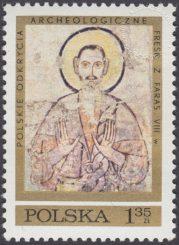 Polskie odkrycia archeologiczne - freski z Faras - 1926