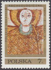 Polskie odkrycia archeologiczne - freski z Faras - 1930