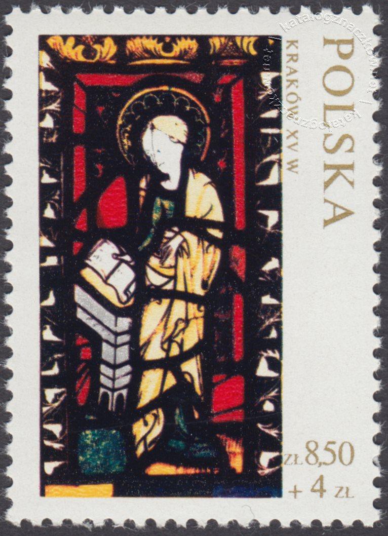 Witraże polskie znaczek nr 1962