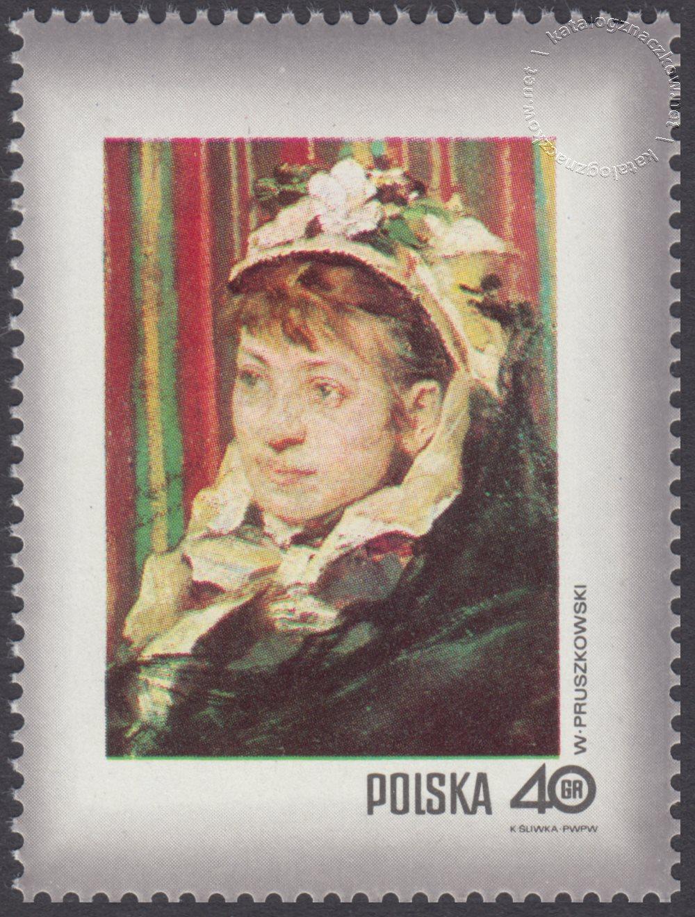 Dzień Znaczka – kobieta w malarstwie polskim znaczek nr 1963
