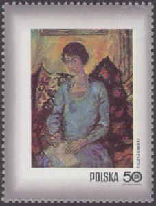 Dzień Znaczka - kobieta w malarstwie polskim - 1964