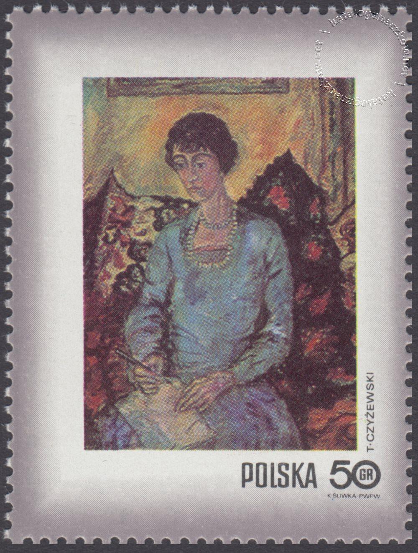 Dzień Znaczka – kobieta w malarstwie polskim znaczek nr 1964