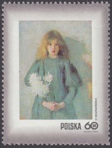 Dzień Znaczka - kobieta w malarstwie polskim - 1965
