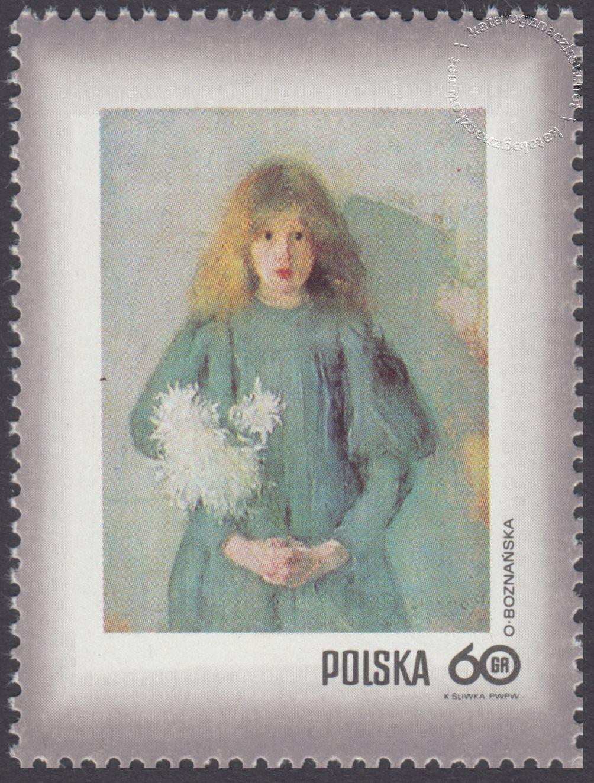 Dzień Znaczka – kobieta w malarstwie polskim znaczek nr 1965