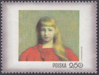 Dzień Znaczka - kobieta w malarstwie polskim - 1966