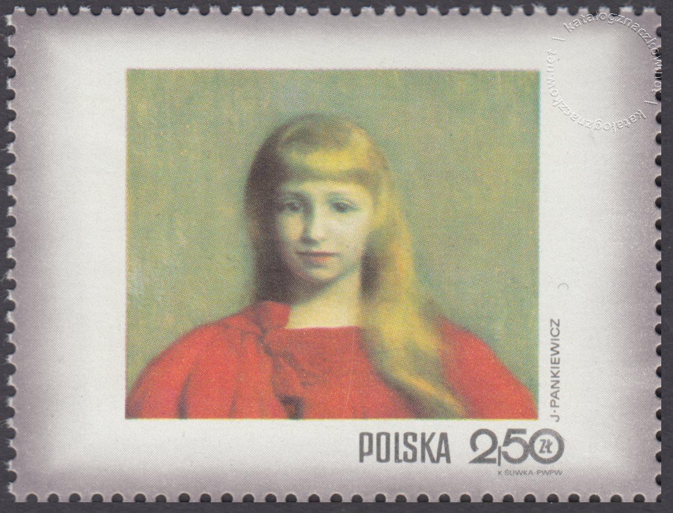 Dzień Znaczka – kobieta w malarstwie polskim znaczek nr 1966