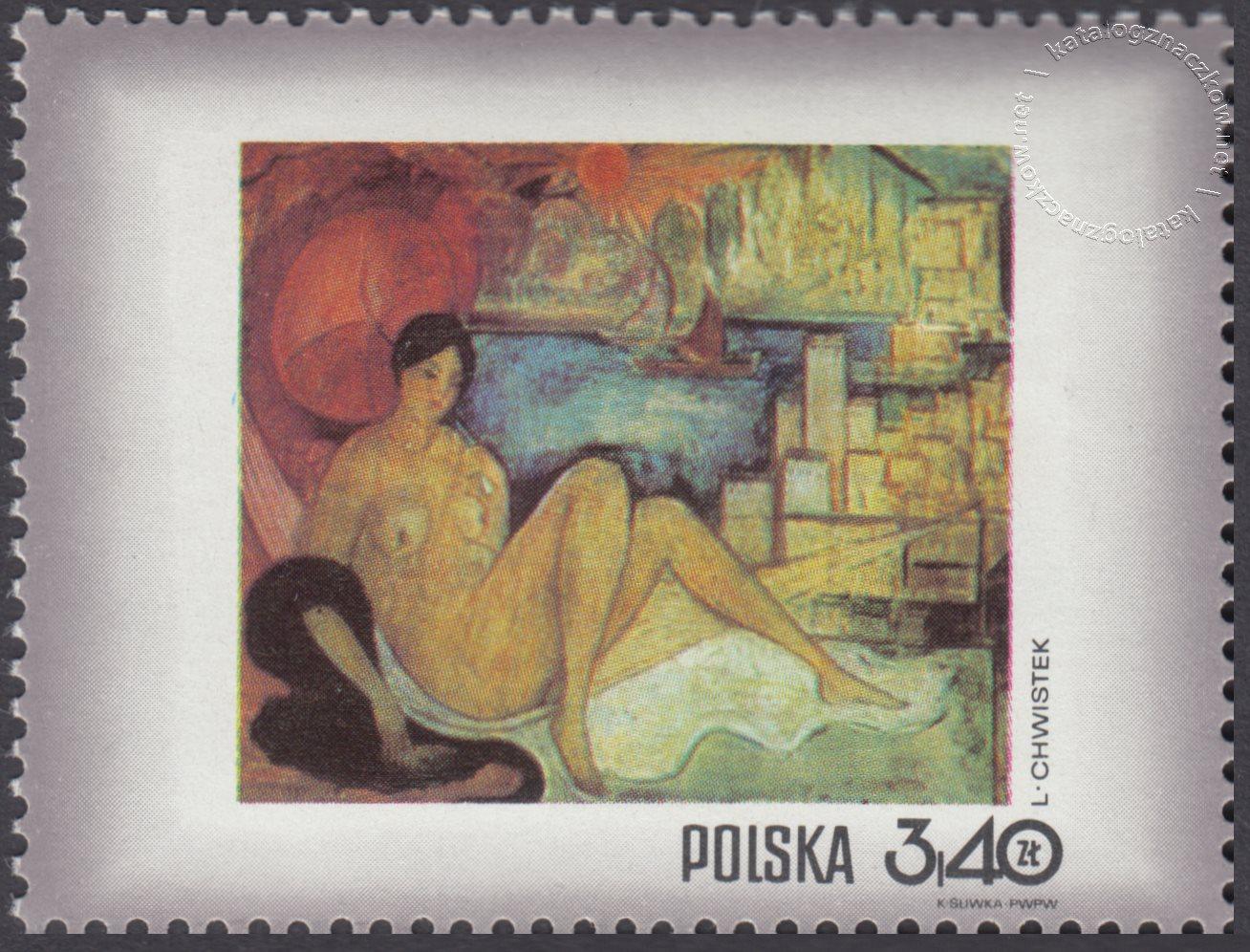 Dzień Znaczka – kobieta w malarstwie polskim znaczek nr 1967