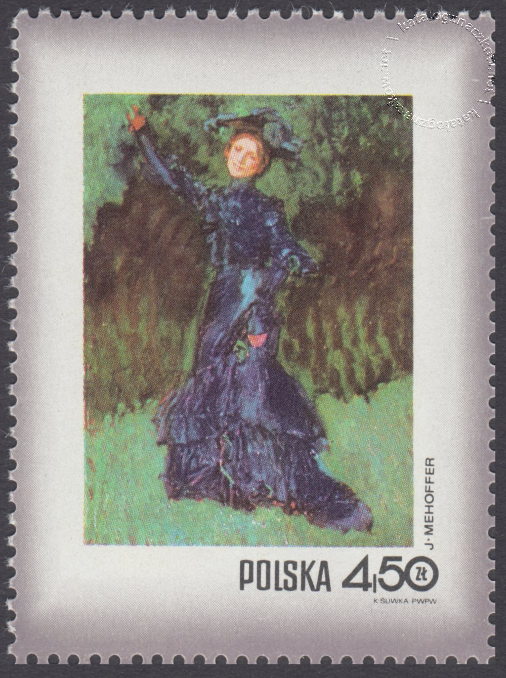 Dzień Znaczka – kobieta w malarstwie polskim znaczek nr 1968