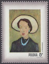 Dzień Znaczka - kobieta w malarstwie polskim - 1969