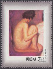 Dzień Znaczka - kobieta w malarstwie polskim - 1970