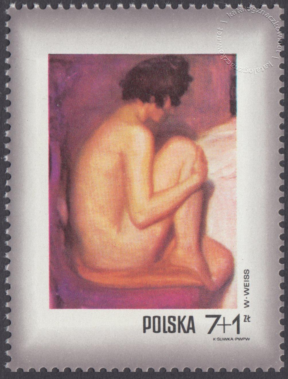 Dzień Znaczka – kobieta w malarstwie polskim znaczek nr 1970
