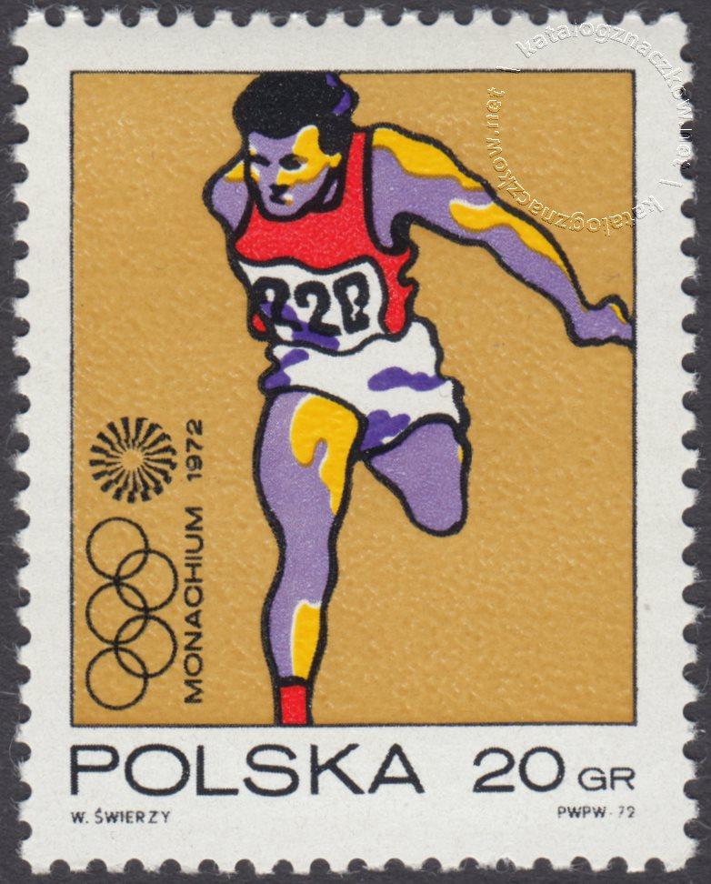 XX Igrzyska Olimpijskie w Monachium znaczek nr 2002