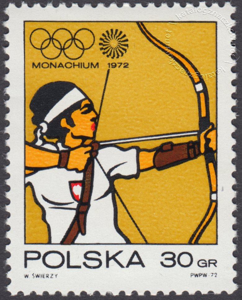 XX Igrzyska Olimpijskie w Monachium znaczek nr 2003
