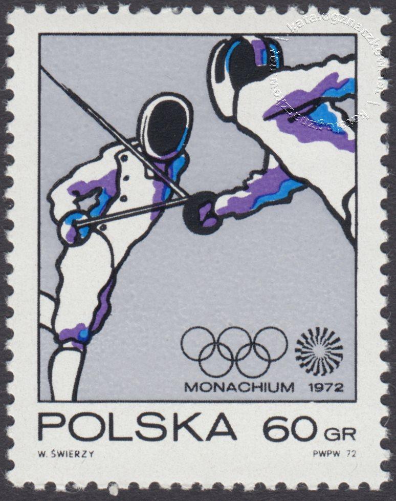 XX Igrzyska Olimpijskie w Monachium znaczek nr 2005