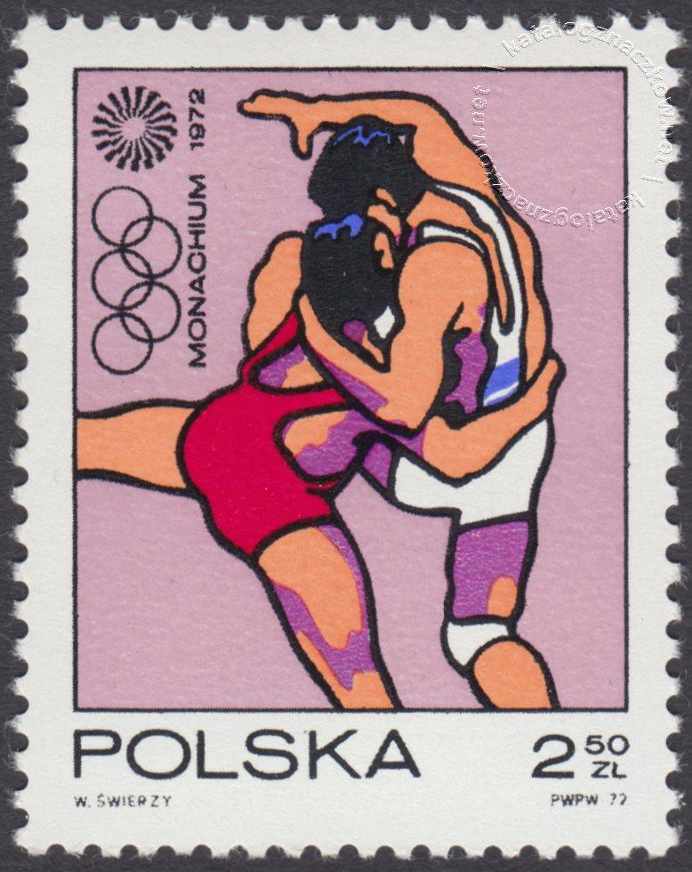 XX Igrzyska Olimpijskie w Monachium znaczek nr 2006