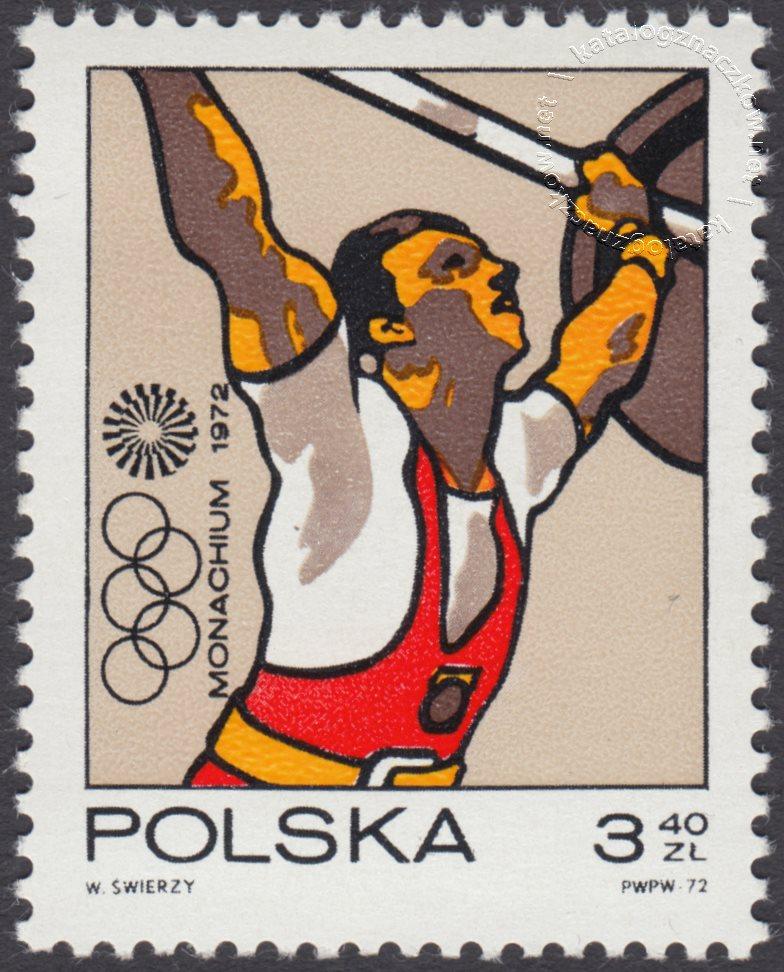 XX Igrzyska Olimpijskie w Monachium znaczek nr 2007