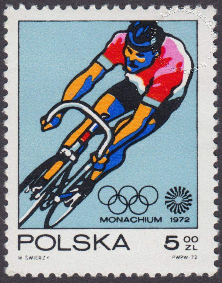 XX Igrzyska Olimpijskie w Monachium znaczek nr 2008
