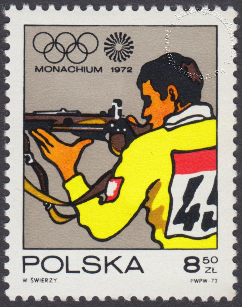 XX Igrzyska Olimpijskie w Monachium znaczek nr 2009
