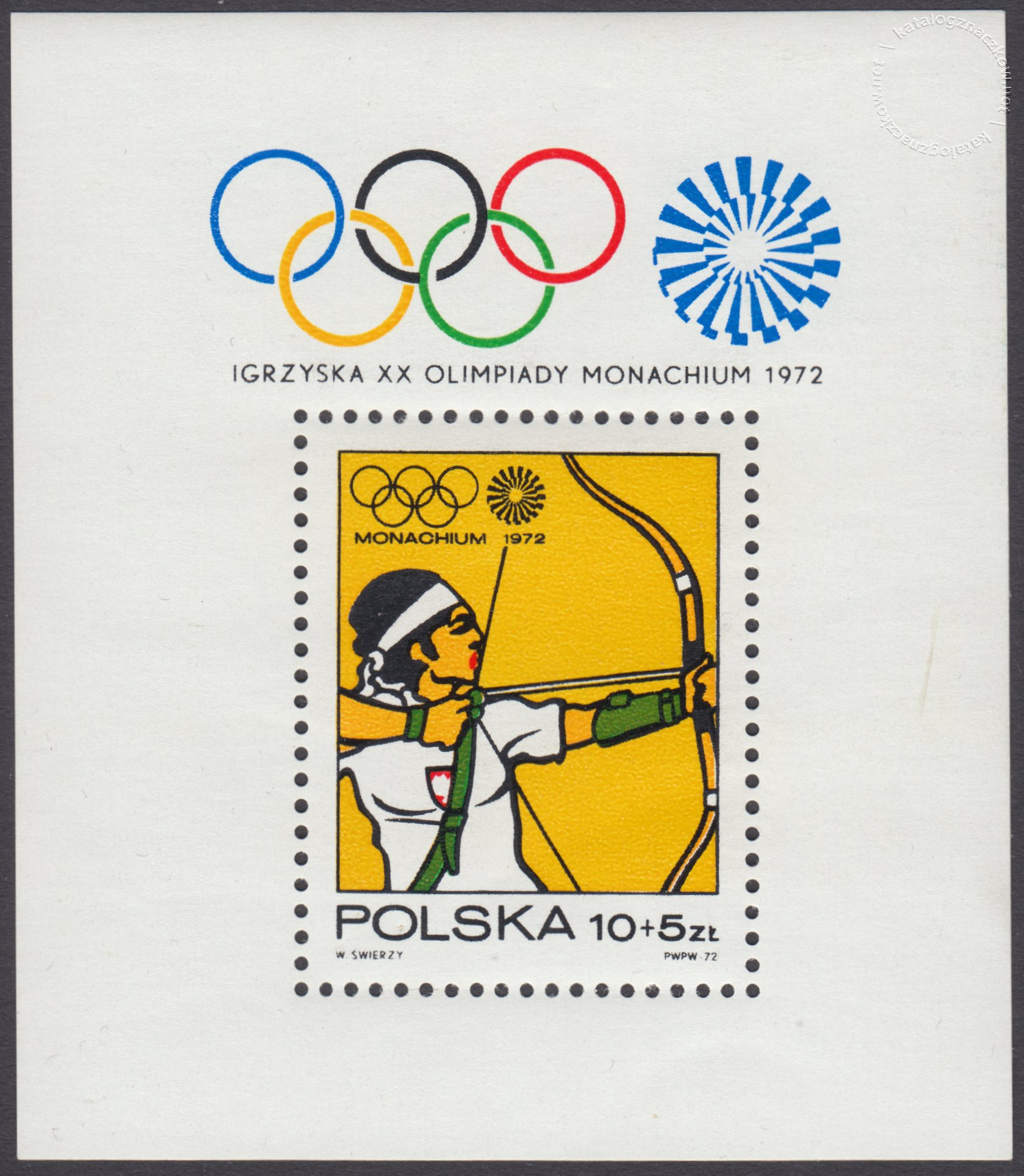 XX Igrzyska Olimpijskie w Monachium – Blok 44