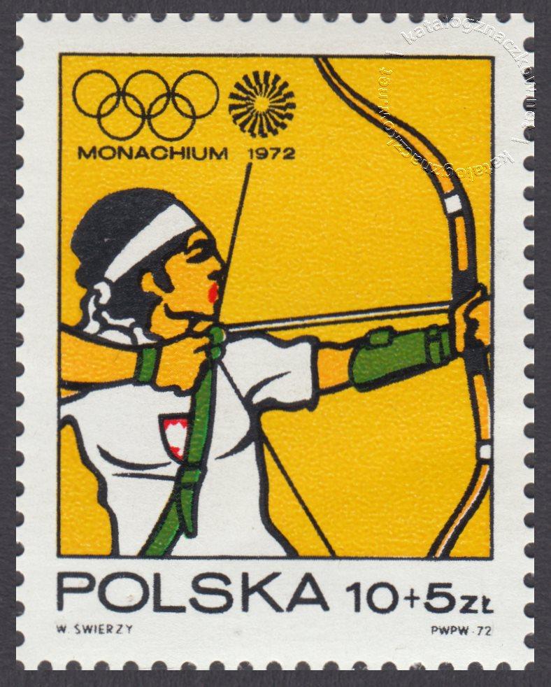 XX Igrzyska Olimpijskie w Monachium znaczek nr 2010