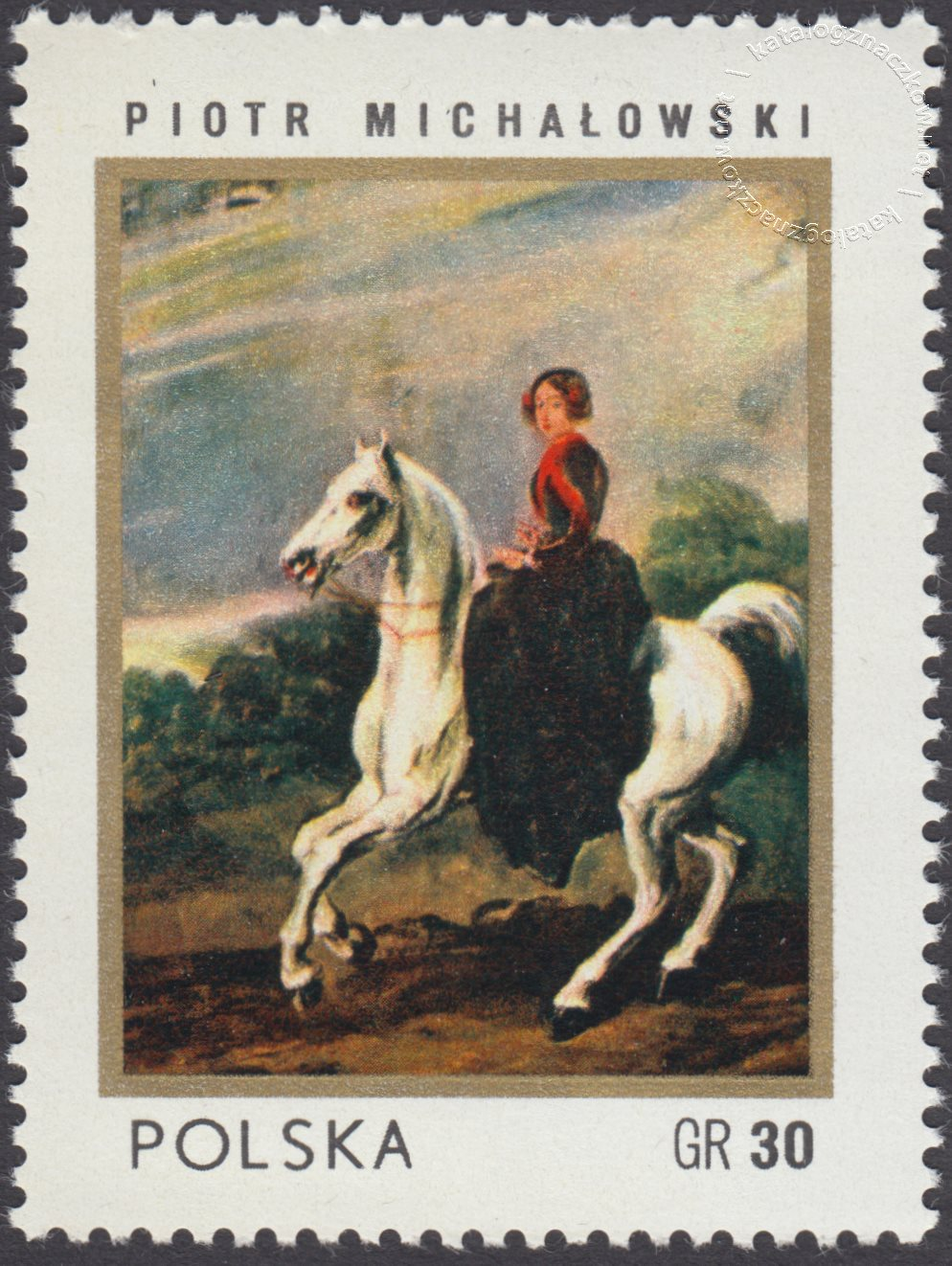 Dzień znaczka znaczek nr 2035