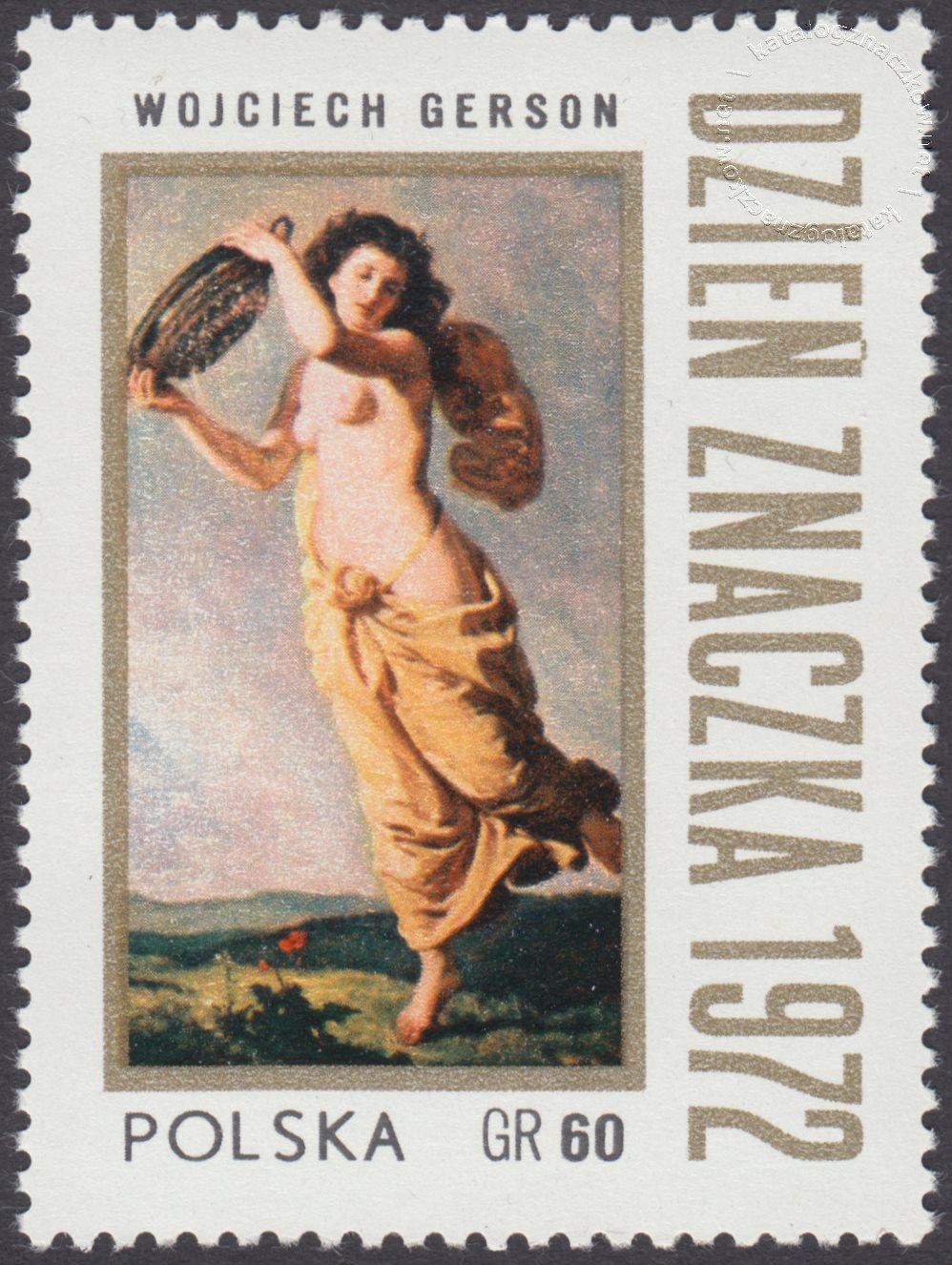 Dzień znaczka znaczek nr 2037