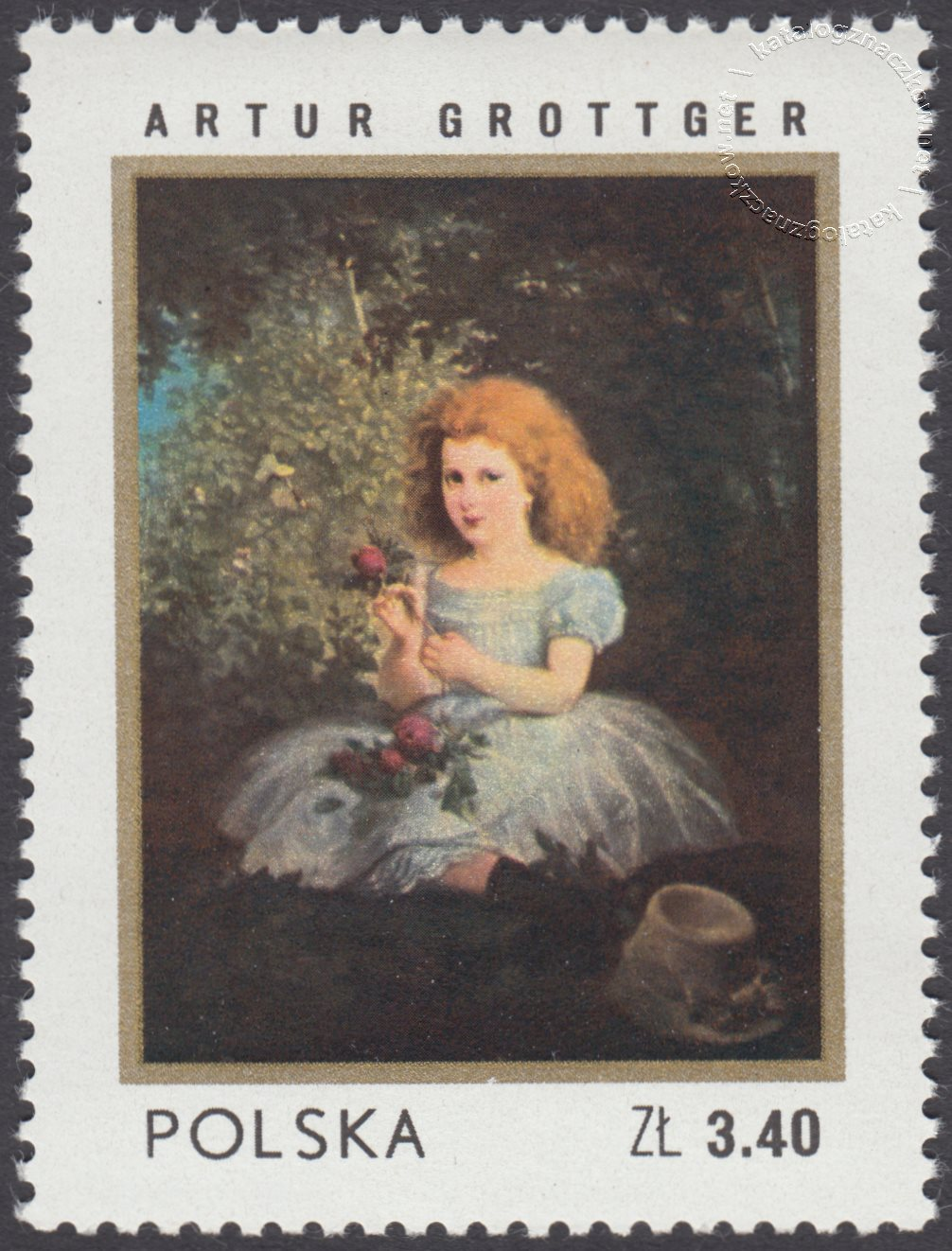 Dzień znaczka znaczek nr 2040